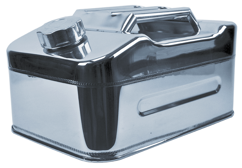 STAINLESS STEEL JOURNEY CONTAINER