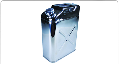 STAINLESS STEEL JERRY CAN CONTAINERS