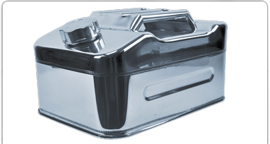 STAINLESS STEEL JOURNEY CONTAINERS
