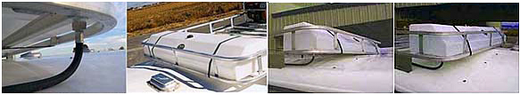 HIGH COUNTRY PLASTICS HORSE TRAILER TANKS