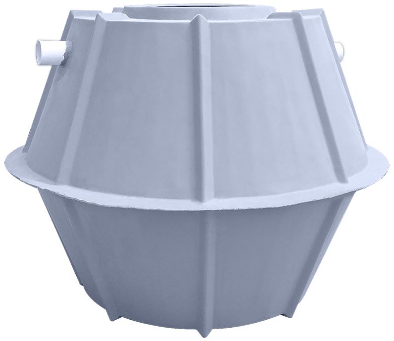 500 Gallon Fiberglass Septic Tank