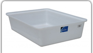 DEN HARTOG HYDRO TRAYS - RECTANGLE OPEN TOP CONTAINMENT TANKS